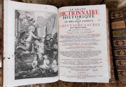 MORERI : Dictionnaire, Bâle, Brandmuller,...