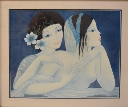 Mara TRAN LONG (née en 1935) : L'Amitié en...
