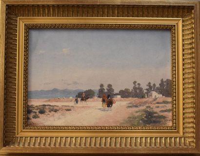 Emile BOIVIN (1846-1920) : Sur la route de...