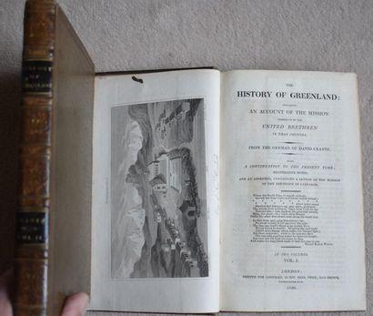 David CRANTZ, The History of Greenland, 2...