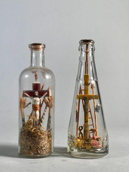 Deux Passions en bouteille. Fin XIXème siècle...