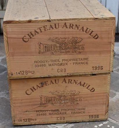 24 BOUTEILLES (2 caisses) Château Arnauld...