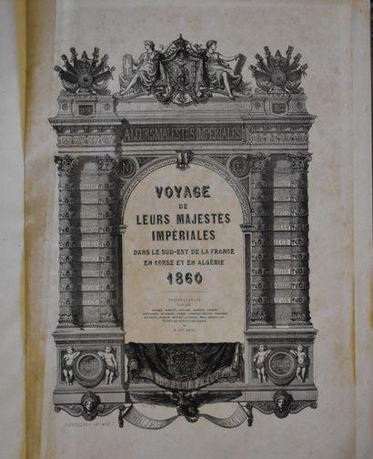UN VOLUME : Voyage de leurs Majestés Impériales...