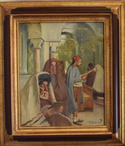 Maurice BISMUTH (1891-1965) : Intérieur de...