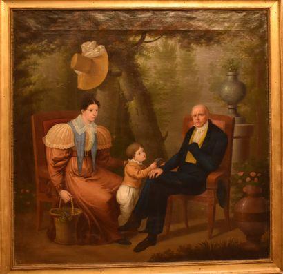 François CELLIER (1768-1849) : Autoportrait...