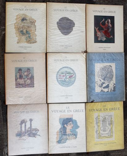 REVUE Le Voyage en Grèce : 11 cahiers.  Joint...