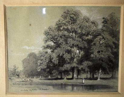 Charles PENSÉE (1799-1871) : Gardienne de...