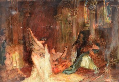 ECOLE SYMBOLIQUE du XIXe siècle : Salomé...