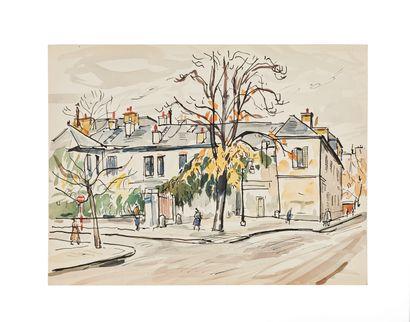 Takanori OGUISS (1901-1986), attribué à  Maison...