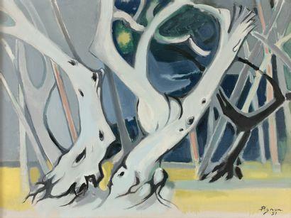 Edouard PIGNON (1905-1993)  La Forêt, la...