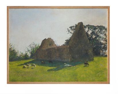 Siebe Johannes TEN CATE (1858-1908)  Bretagne...