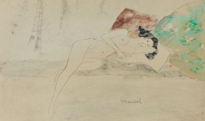 Jacqueline MARVAL (1866-1932)  Le Modèle...