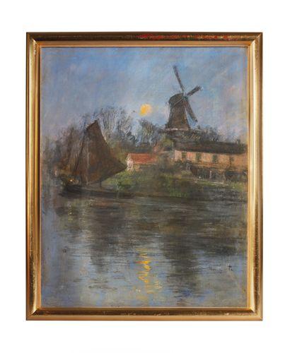 Siebe Johannes TEN CATE (1858-1908)  Moulin...