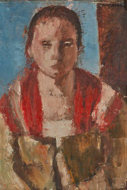 Charles Georges DUFRESNE (1876-1938)  Tête...