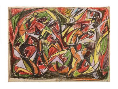 André MASSON (1896-1987) Massacre, 1931...