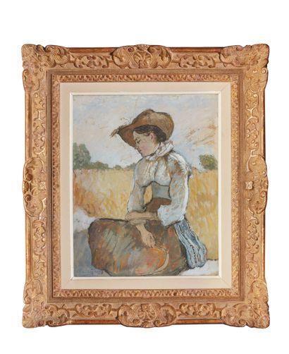 Charles MILCENDEAU (1872-1919)  Femme assise...