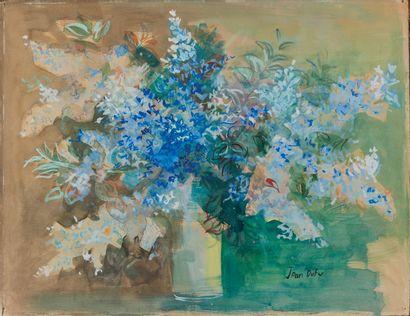 Jean DUFY (1888-1964)  Bouquet de fleurs...