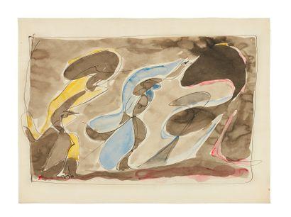 André MASSON (1896-1987) Poursuite, 1932...