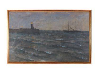 Siebe Johannes TEN CATE (1858-1908)  Le Phare...
