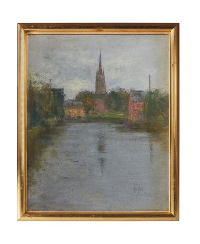 Siebe Johannes TEN CATE (1858-1908)  Paysage...
