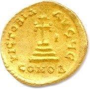 HÉRACLIUS et HÉRACLIUS CONSTANTIN 613-630. Les deux bustes diadémés et drapés de...