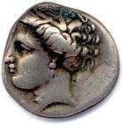 Trois monnaies grecques en argent :  Macédoine Alexandre III le Grand 336-323 Hémidrachme....