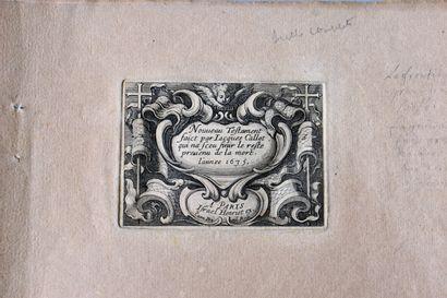 CALLOT (Jacques) : Nouveau Testament. Paris,...
