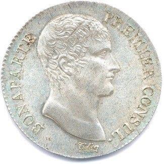 BONAPARTE Premier Consul 1799-1804. 5 Francs...