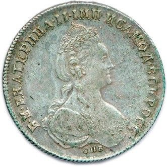 RUSSIE - CATHERINE II LA GRANDE 1762-1796....