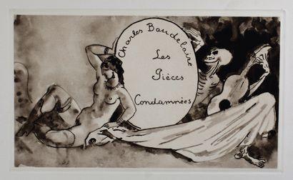 BAUDELAIRE (Charles) : Les Fleurs du mal....