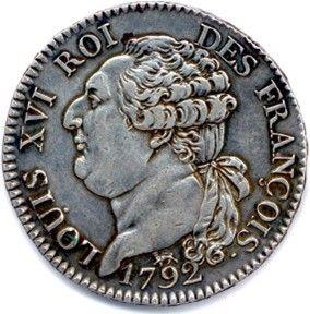 LOUIS XVI Gouvernement Constitutionnel 1791-1792....