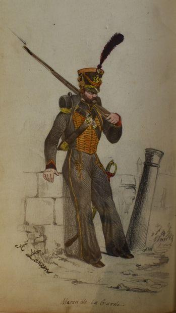 SAINT-HILAIRE (Emile Marco) : Histoire anecdotique,...