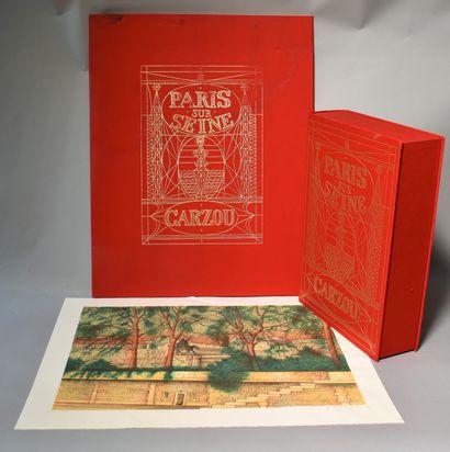 [COLLECTIF] et CARZOU (Jean-Marie) : Paris...
