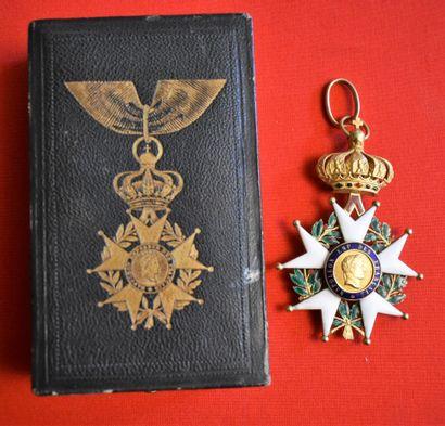 CROIX DE COMMANDEUR de la Légion d'Honneur...
