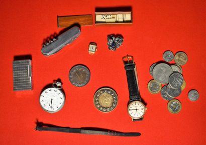 LOT: BOITIER de montre en or (Poids brut...