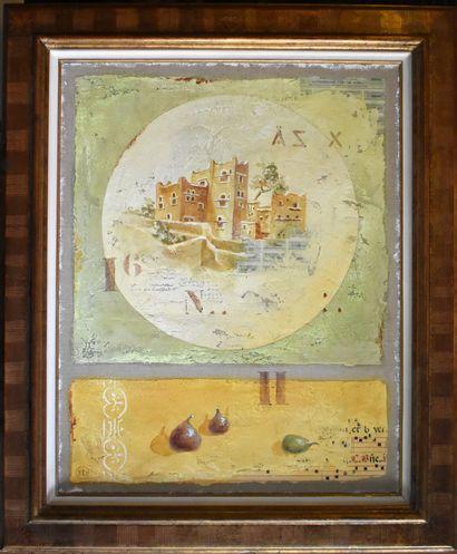 Frédérique DUPLEICH (1970) : Maroc. Toile...