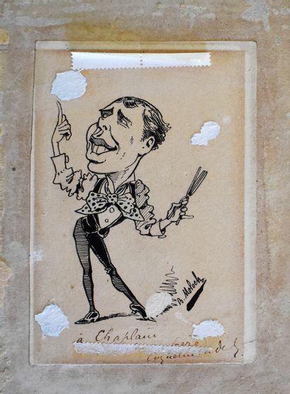 B. Colombo BOLOCH (1849-1909) : Caricature....
