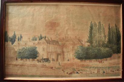 ECOLE FRANÇAISE du début du XIXe siècle :...