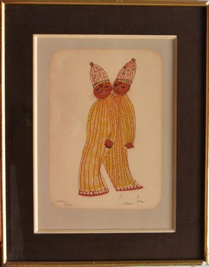 Léonor FINI (1907-1996) : Les chats en costumes...