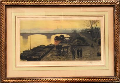 Luigi LOIR (1845-1916) : L'ancien Palais...