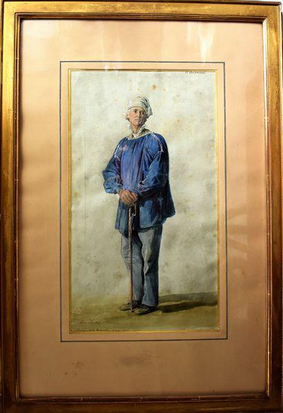 Charles LHUILLIER (c. 1824-1898) : Le Père...