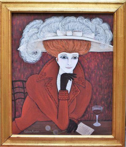 Patricia BARTON (née en 1928) : Elégante...