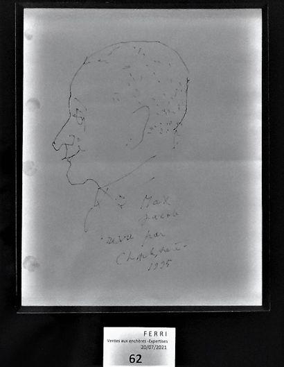 Charles TRENET : Profils de Max Jacob et...