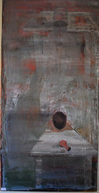 Att. à Peter BOND (1952) : Untitled why ???....