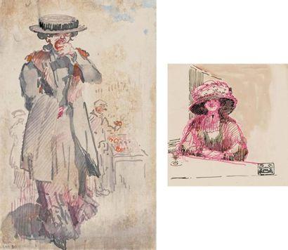 La Mangeuse de pommes. 1909 (L., t.3, 247)...