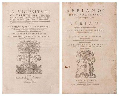 [ARRIEN] ARRIANUS (Fl.)
