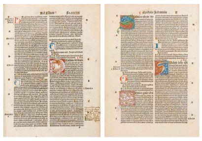 [BIBLE] Biblia latina. Lyon, Jean Pivard...