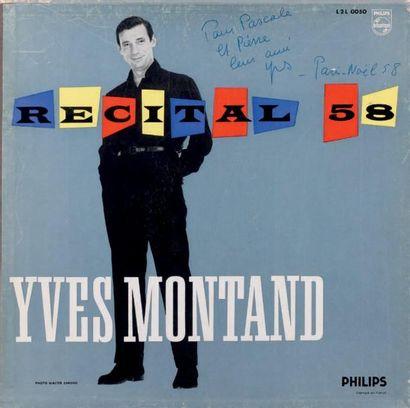Chansons françaises ÉDITH PIAF (deux), YVES...