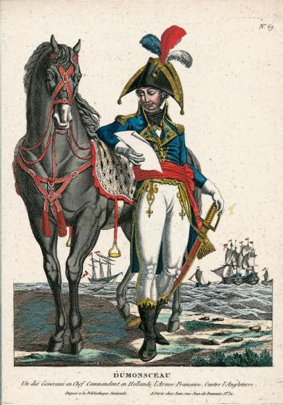 COSTUMES militaires. Généraux de l'époque...