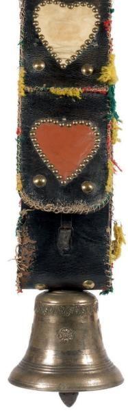Collier de bovin Clarine en bronze, ornée...